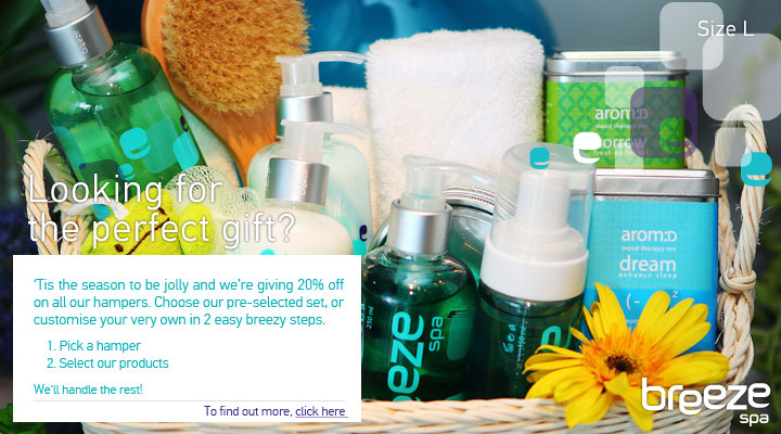 breeze spa - Gift - Size L